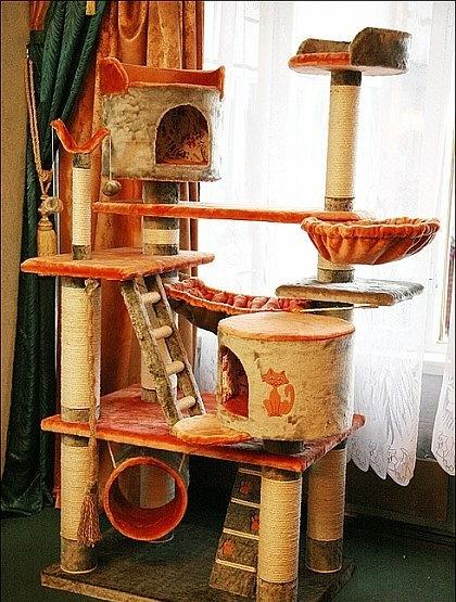Домики для кошек - фото 9