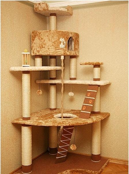 Домики для кошек - фото 10