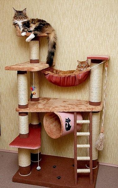 Домики для кошек - фото 15