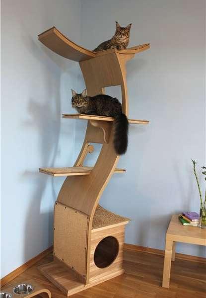 Домики для кошек - фото 16