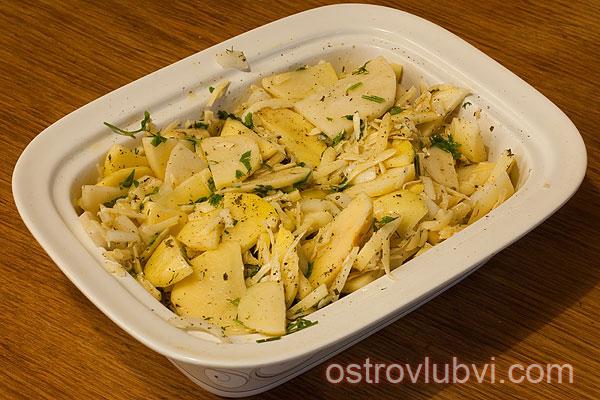 Картофель с сыром - фото 6