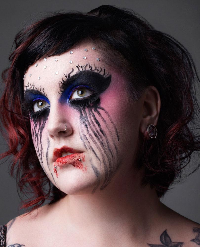 Образ на Хэллоуин - фото 19