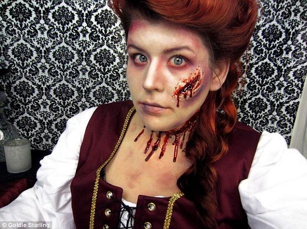 Образ на Хэллоуин - фото 9