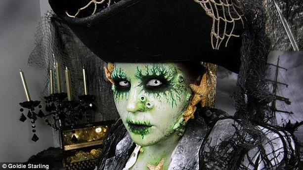 Образ на Хэллоуин - фото 27
