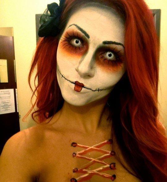Образ на Хэллоуин - фото 18