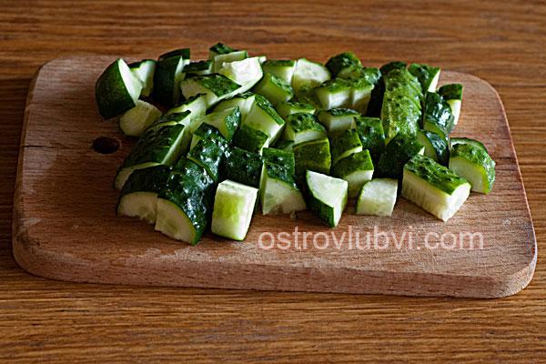 Салат из свежих овощей - фото 1