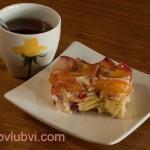 Бисквитно-желейный торт