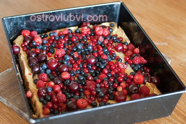 Бисквитно-желейный торт - фото 4