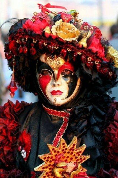 Венецианские маски - фото 24