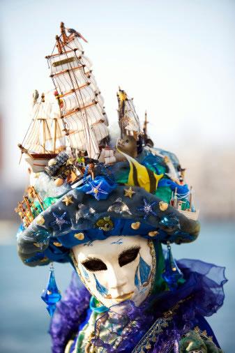 Венецианские маски - фото 27