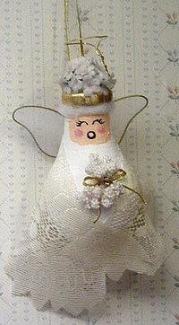 Новогодние игрушки из лампочек - фото 12