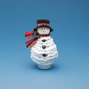 Новогодние игрушки из лампочек - фото 22