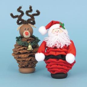 Новогодние игрушки из лампочек - фото 23