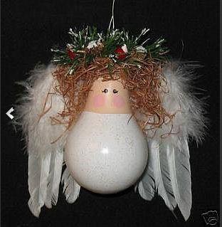 Новогодние игрушки из лампочек - фото 25