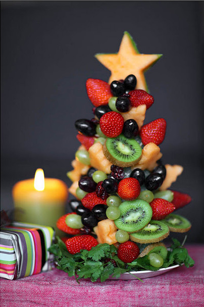 Новогодние закуски «Елочки»