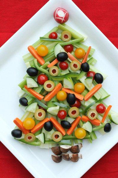 Новогодние закуски «Елочки» - фото 20