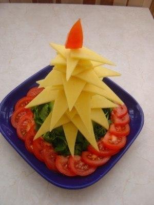 Новогодние закуски «Елочки» - фото 4