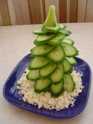 Новогодние закуски «Елочки» - фото 7