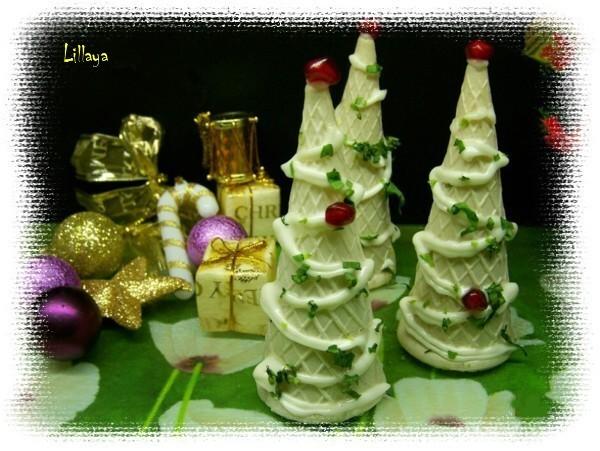 Новогодние закуски «Елочки» - фото 8