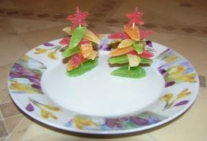 Новогодние закуски «Елочки» - фото 10