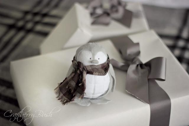 Пингвин из войлока - фото 6