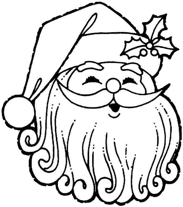 Шаблоны Деда Мороза - фото 2