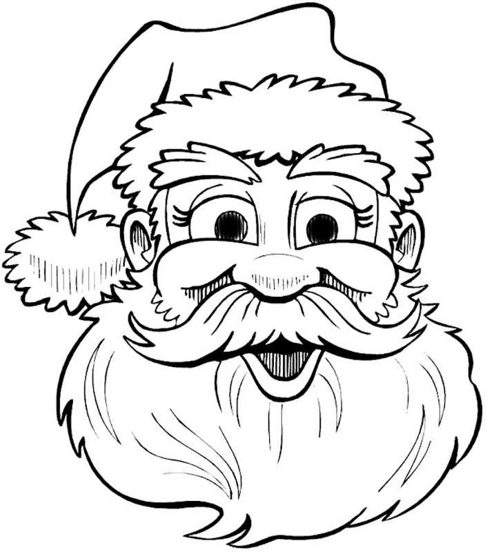 Шаблоны Деда Мороза