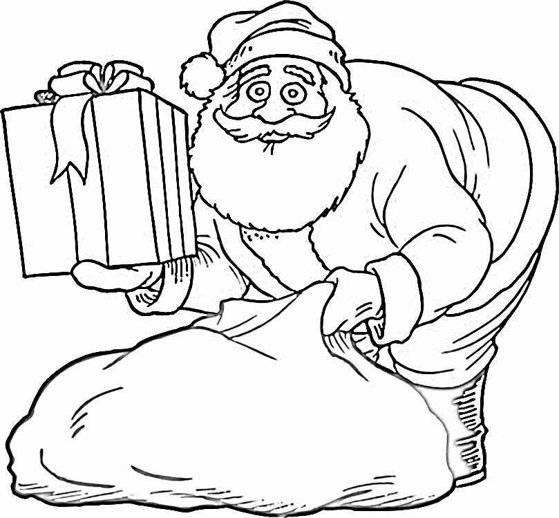 Шаблоны Деда Мороза - фото 12