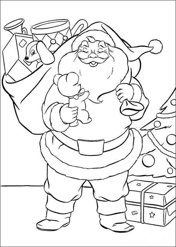 Шаблоны Деда Мороза - фото 6