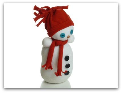 Снеговик из носков - фото 2