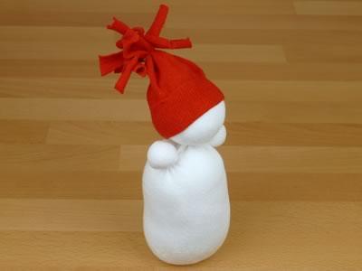 Снеговик из носков - фото 8