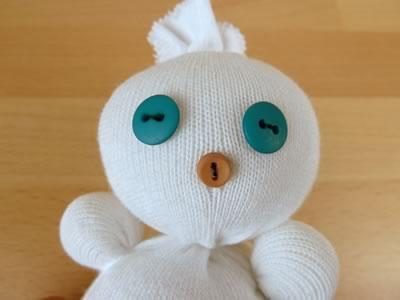 Снеговик из носков - фото 10