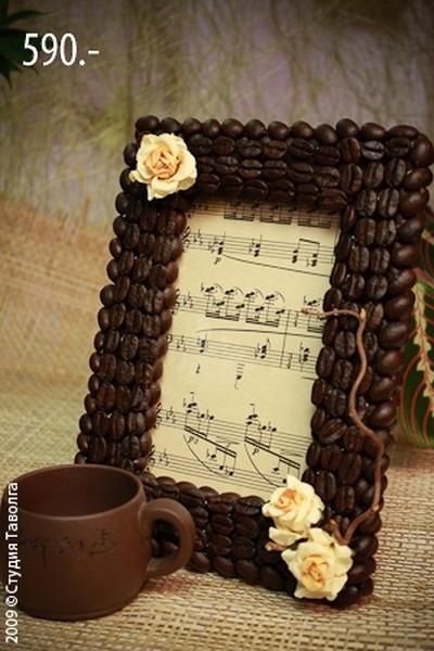 Декор кофейными зернами - фото 17