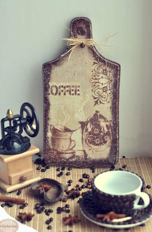 Декор кофейными зернами - фото 22