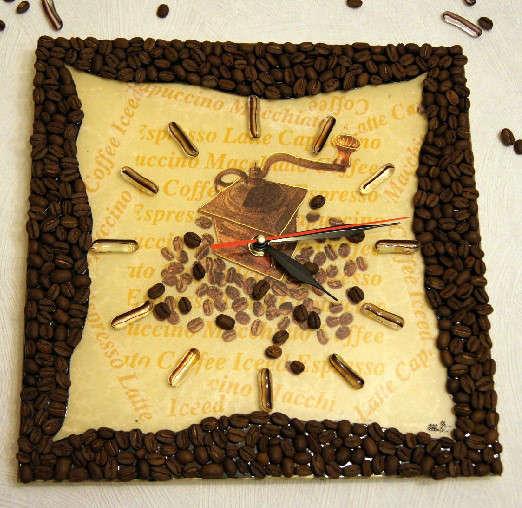 Декор кофейными зернами - фото 10