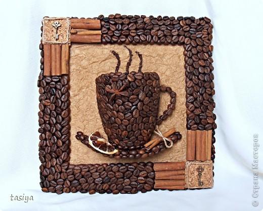 Декор кофейными зернами - фото 14