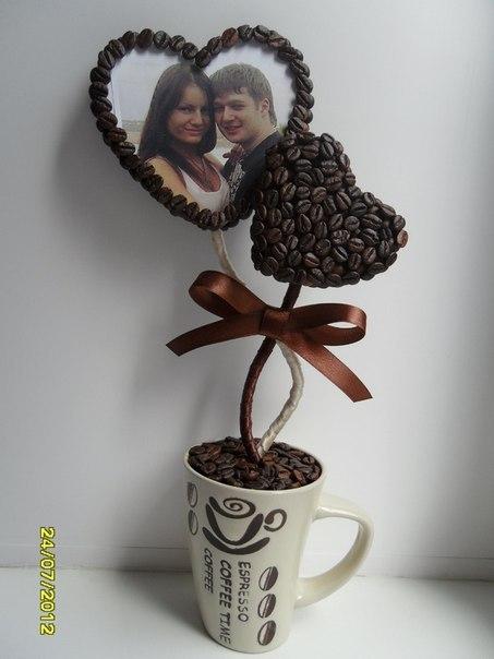 Декор кофейными зернами - фото 23