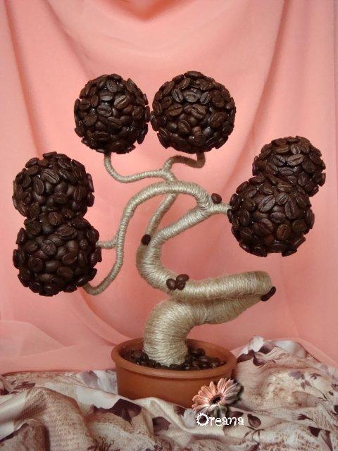 Декор кофейными зернами - фото 24