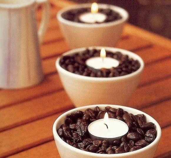 Декор кофейными зернами - фото 11