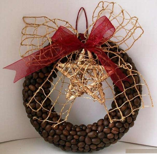 Декор кофейными зернами - фото 12
