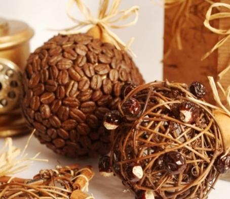 Декор кофейными зернами - фото 13