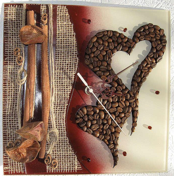Декор кофейными зернами - фото 26