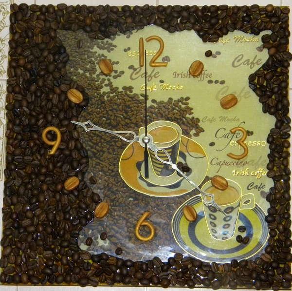 Декор кофейными зернами - фото 27