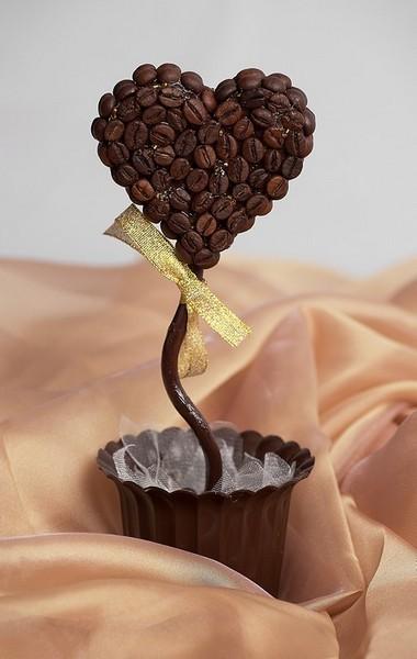 Декор кофейными зернами - фото 20
