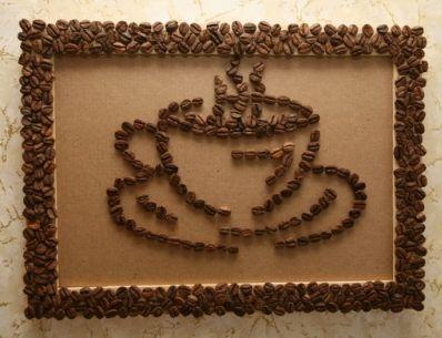 Декор кофейными зернами - фото 3
