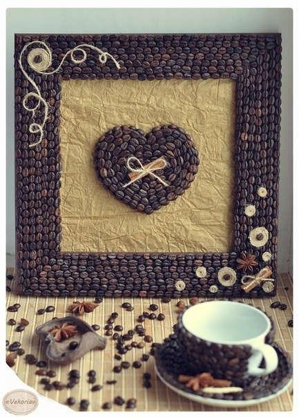 Декор кофейными зернами - фото 21