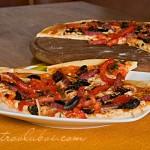 Итальянская пицца (тесто на манке)
