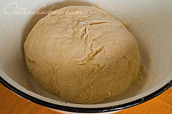Итальянская пицца (тесто на манке) фото 6