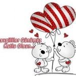 Поздравления с днем Святого Валентина на турецком