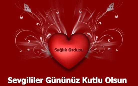 Поздравления с днем Святого Валентина на турецком с переводом